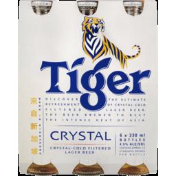 Photo of Tiger Crystal Beer Bottles