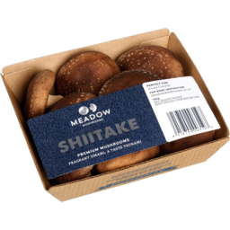 Photo of Meadow Mushrooms Shiitake Premium Mushrooms 100g