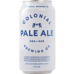 Photo of Colonial Pale Ale Can