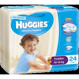 Photo of Huggies Nappies Toddler Boys 24pk