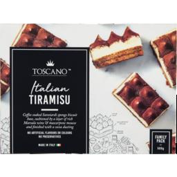 Photo of Toscano Italian Tiramisu 500g