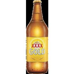 Photo of Xxxx Gold Australian Lager 750ml Bottle