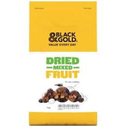 Photo of Black & Gold Dried Mixed Fruit 1kg