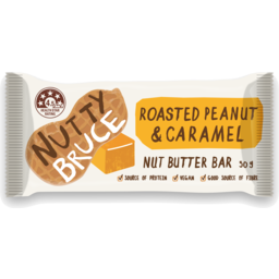 Photo of Nutty Bruce Roast Peanut & Caramel Bar 50g