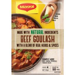 Photo of Maggi Beef Goulash 35g