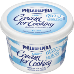Photo of Kraft Philadelphia Light Cream For Cooking 250ml