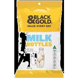 Photo of Black/G Milk Bottles 200g
