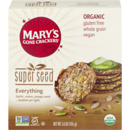 Photo of Mary's Gone Crackers Super Seed Everything