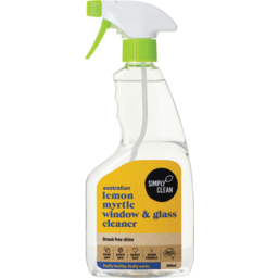 Photo of Simply Clean Window & Glass Cleaner - Lemon Myrtle