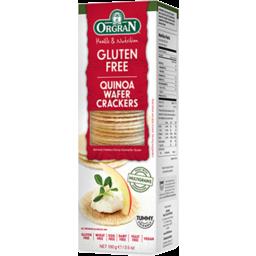 Photo of Orgran Crackers - Quinoa Wafers
