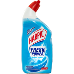 Photo of Harpic Fresh Power Liquid Toilet Cleaner Marine Splash 700ml
