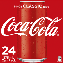 Photo of Coca Cola Cans 24pk
