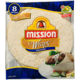 Photo of Mission Original Wraps 567g