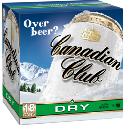 Photo of Canadian Club & Dry Cans