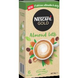 Photo of Nescafe Gold Coffee Mixes Almond Latte 6pk 16g