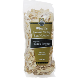 Photo of Wiech's Egg Noodle Black Pepper 375gm