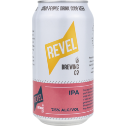 Photo of Revel Brewing IPA Cans