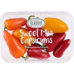 Photo of Capsicum Mini Snacking Punnet