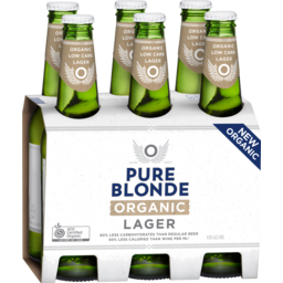 Photo of Pure Blonde Organic Lager 330ml 6 Pack