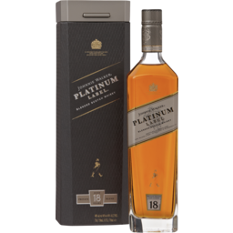 Photo of Johnnie Walker Platinum Label Scotch Whisky