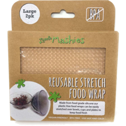 Photo of Little Mashies Food Wrap - Silicone - Large (25cm X 25cm)