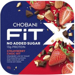 Photo of Chobani Fit X Strawberry Choc Hit 140g