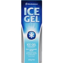 Photo of Mentholatum Ice Gel 100g