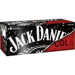 Photo of Jack Daniel'S Whiskey & Cola 10x375ml