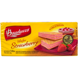 Photo of Bauducco Strawberry Wafer