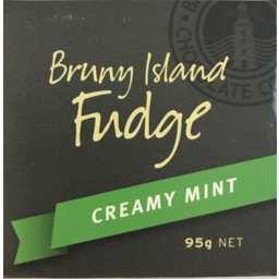 Photo of Bruny Island Creamy Mint Fudge 95g