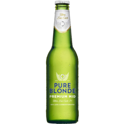 Photo of Pure Blonde Premium Midstrength Bottles