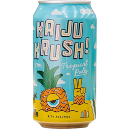 Photo of Kaiju Krush Tropical Pale Ale Cans