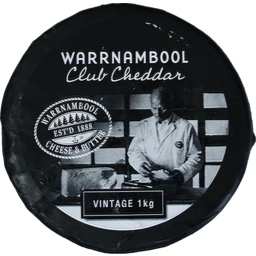 Photo of Warrnambool Club Cheddar Vintage 1kg