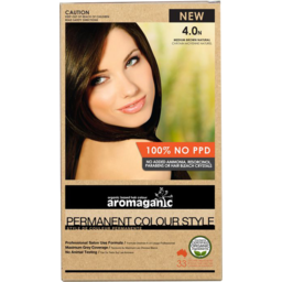 Photo of Aromaganic Hair Colour - Medium Brown Natural 4.0n