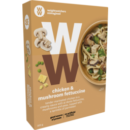 Photo of Weight Watchers Fettuccine Chicken & Mushroom 300gm