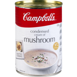 Photo of Campbell's Soup Condensed Cream Of Mushroom 420g