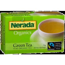 Photo of Nerada Organics Green Tea 75g 50pk