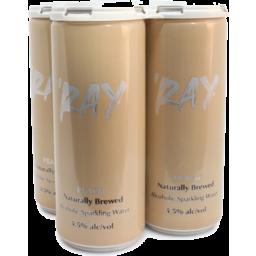 Photo of 'Ray Peach Hard Seltzer Can