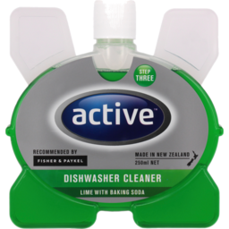 Photo of Active Dishwasher Cleaner Lime & Baking Soda 250ml