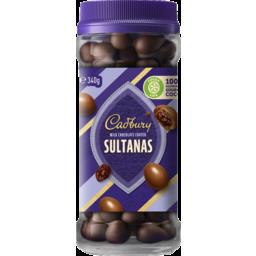 Photo of Cadbury Milk Chocolate Coated Sultanas 340g