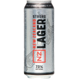 Photo of NZ Lager Strong Can 500ml
