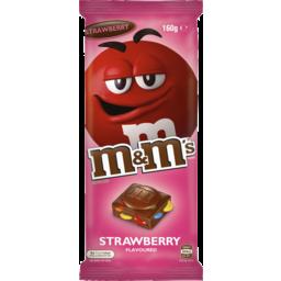 Photo of M&M's Strawberry Milk Chocolate Block 160gm