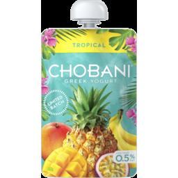 Photo of Chobani Tropical Greek Yogurt Pouch 140g
