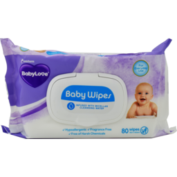 Photo of Babylove Wipes Baby Everyday 80s