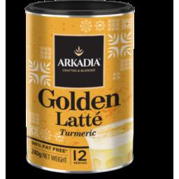Photo of Arkadia Golden Latte Tumeric 240g