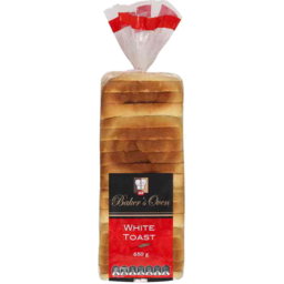 Photo of IGA Bakers Oven Bread White Toast 650gm