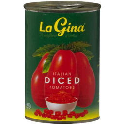 Photo of La Gina Italian Diced Tomatoes 400gm