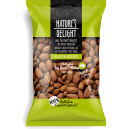 Photo of Nature's Delight South Australian Dry Roasted Almonds 500g