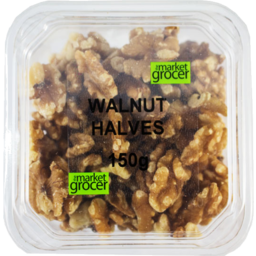 Photo of The Market Grocer Walnut Halves 150gm