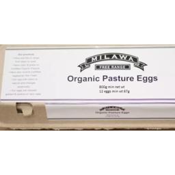 Photo of Milawa Organic Free Range Eggs 800g
